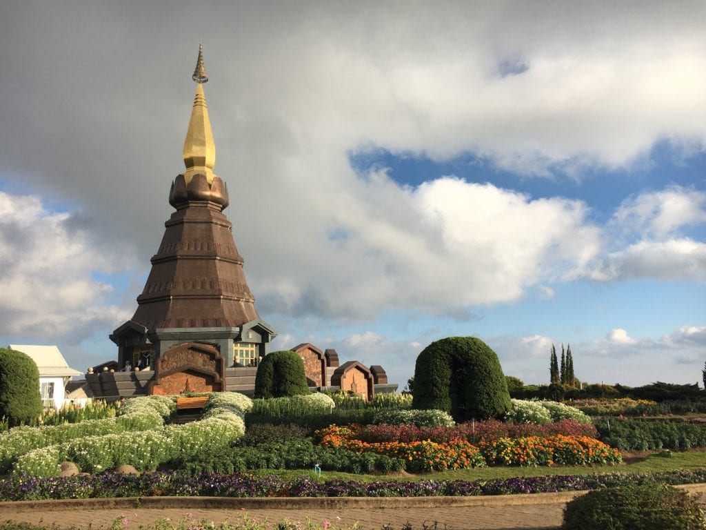 Doi Inthanon National Park Pagodas
