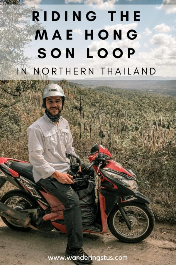 riding the mae hong son loop pin