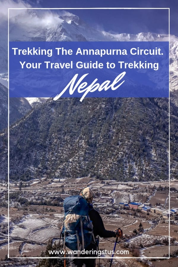 Annapurna Circuit Trek Pin