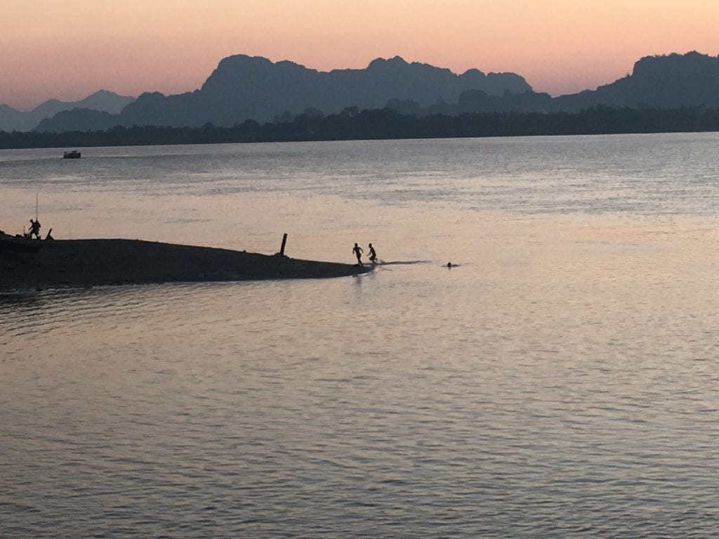 Hpa An Myanmar River Side