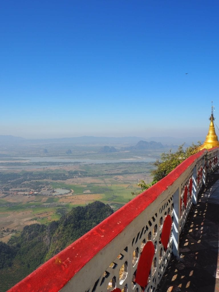 things to do in hpa an - mount zwegabin hike