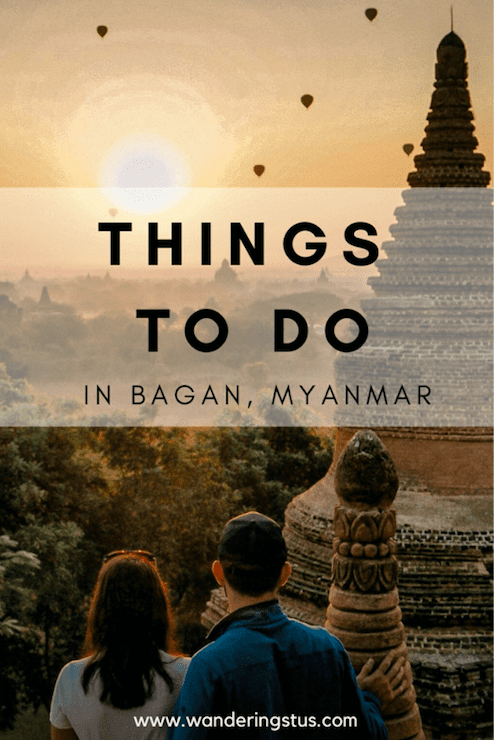 things to do in bagan, mayanmar pin