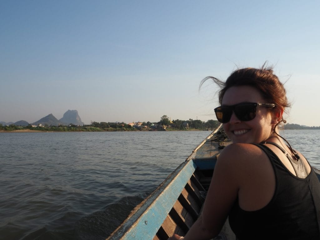 Hpa An Boat ride on the river