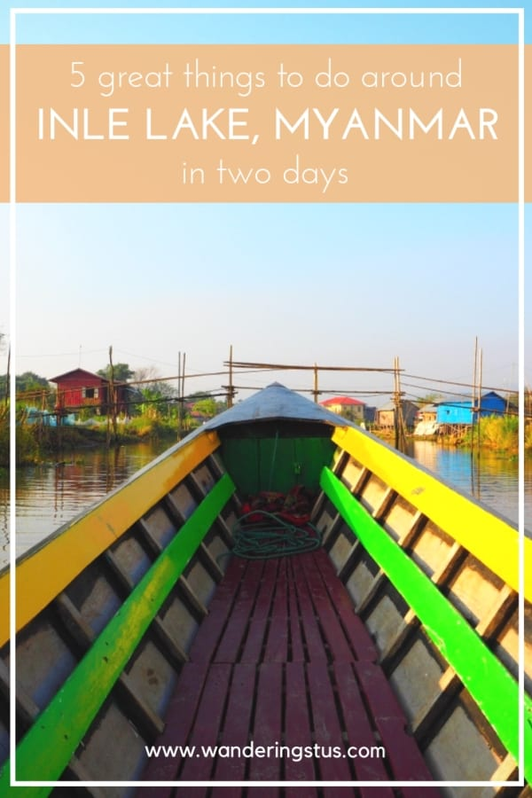 Things To Do Around Inle Lake Pin