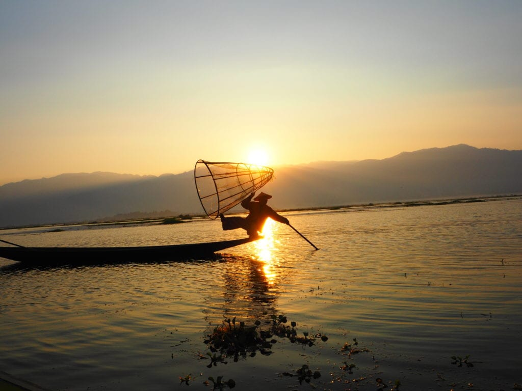 Inthanon Fisherman on Inle Lake