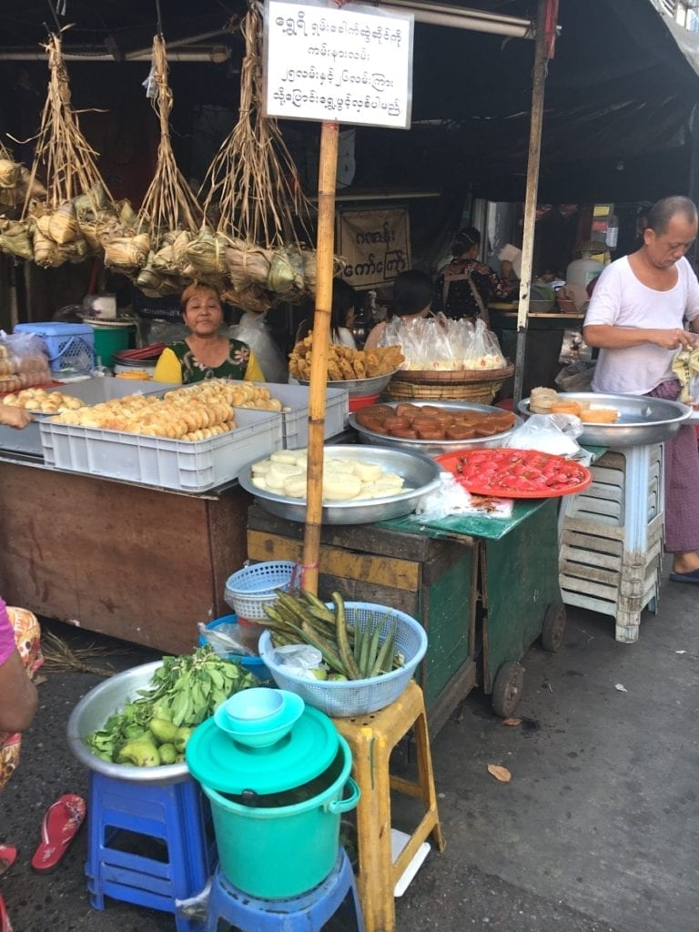 Yangon Street Food and Vendors