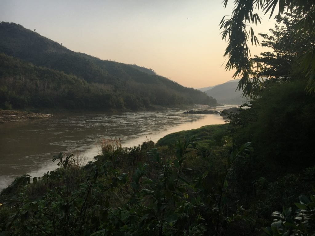 Mekong River from Pakbeng
