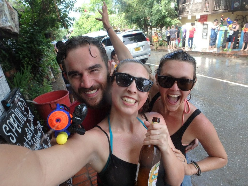 Songkran (Water Festival) in Laos