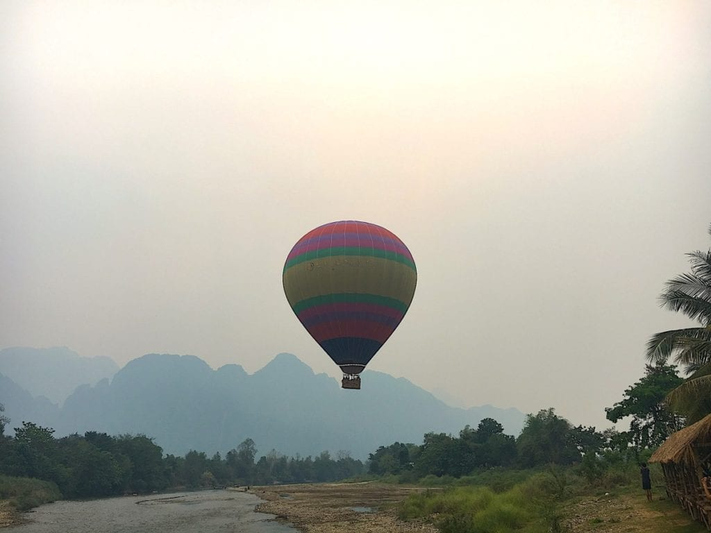 Hot Air Balloons in Laos