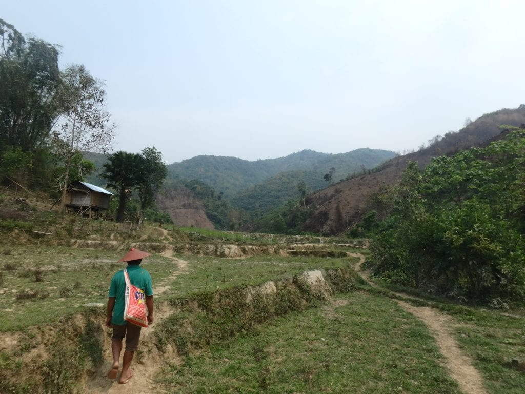 Trekking through Northern Laos