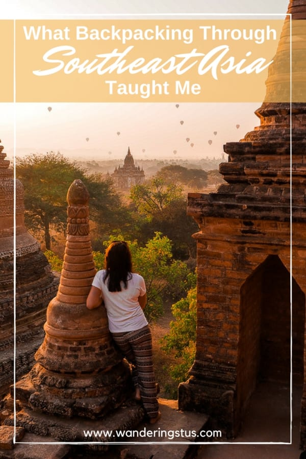 What Backpacking Through Asia Taught Me Pin