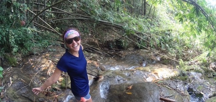 100 Waterfall Hike in Northern Laos