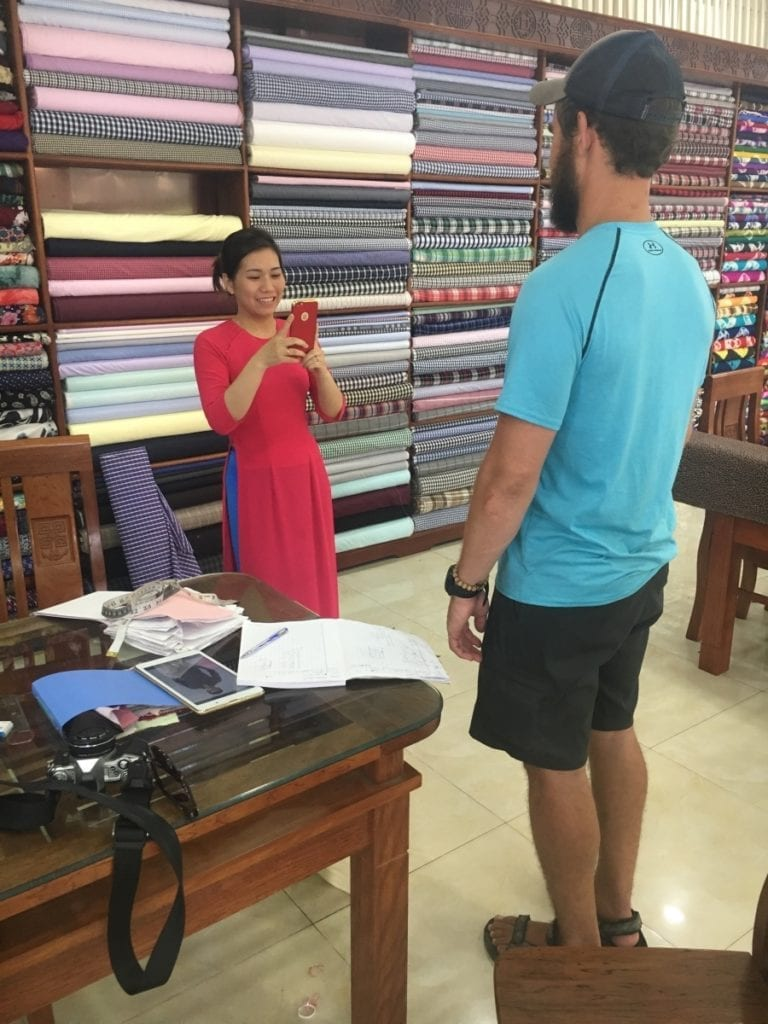 Having Clothes Made in Hoi An