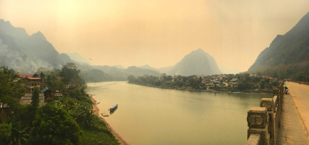 Nong Khiaw, Laos in Northern Laos