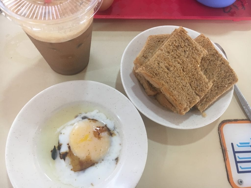 Singapore traditional breakfast
