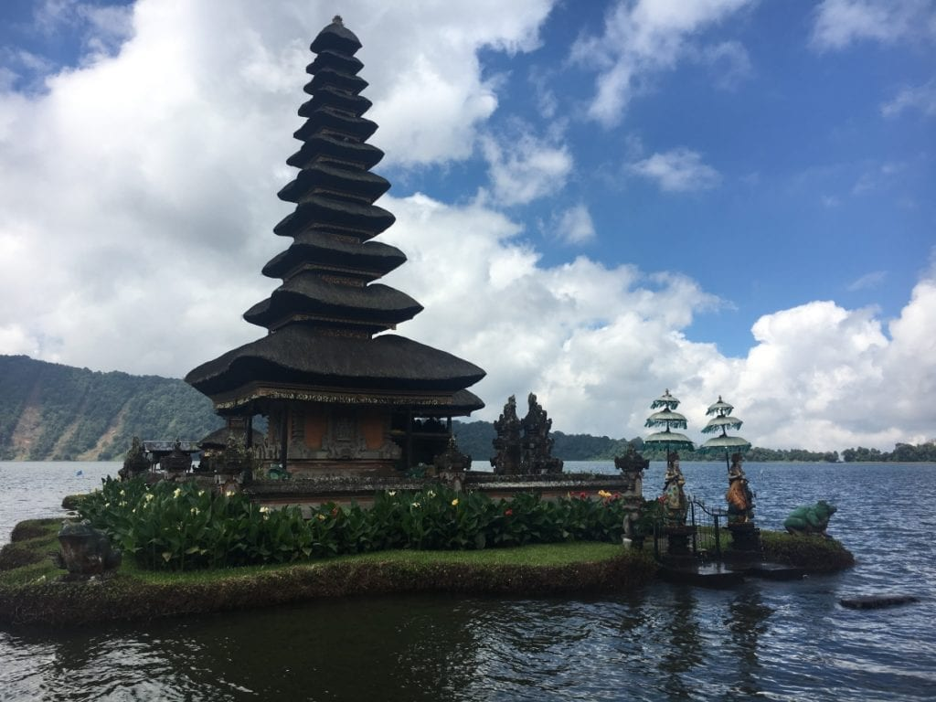 Pura Ulun Danu Bratan Temple in Northern Bali