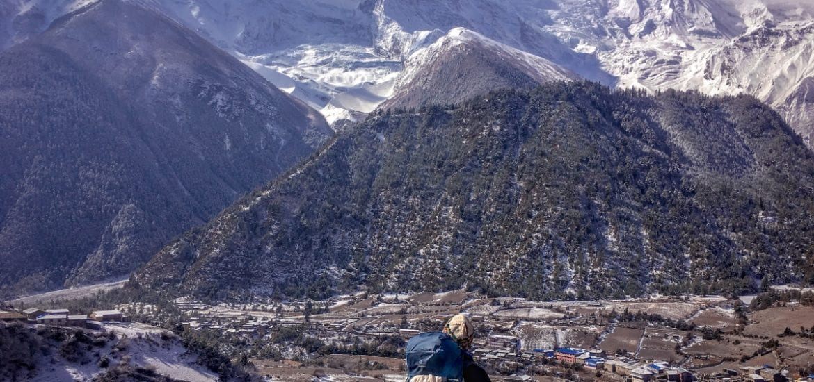 Annapurna Circuit in the Himalayas