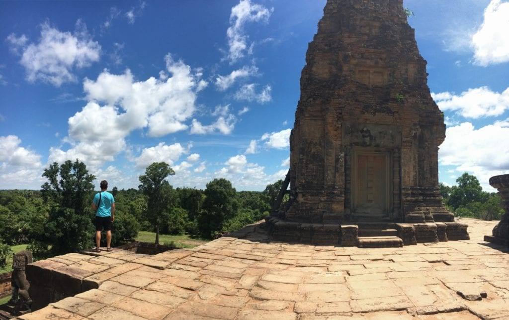 Taking in the views of Pre Rup