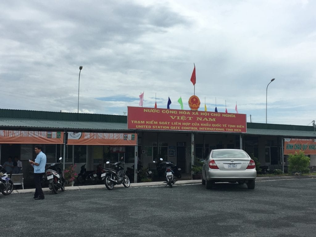 Tinh Bien, Vietnam Border Check Point