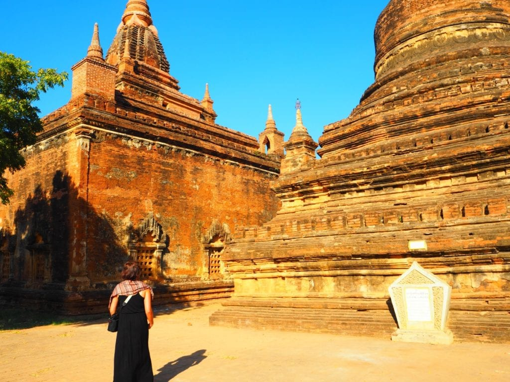 Temples and Pagodas in Bagan -  gubyaukgyi pagoda