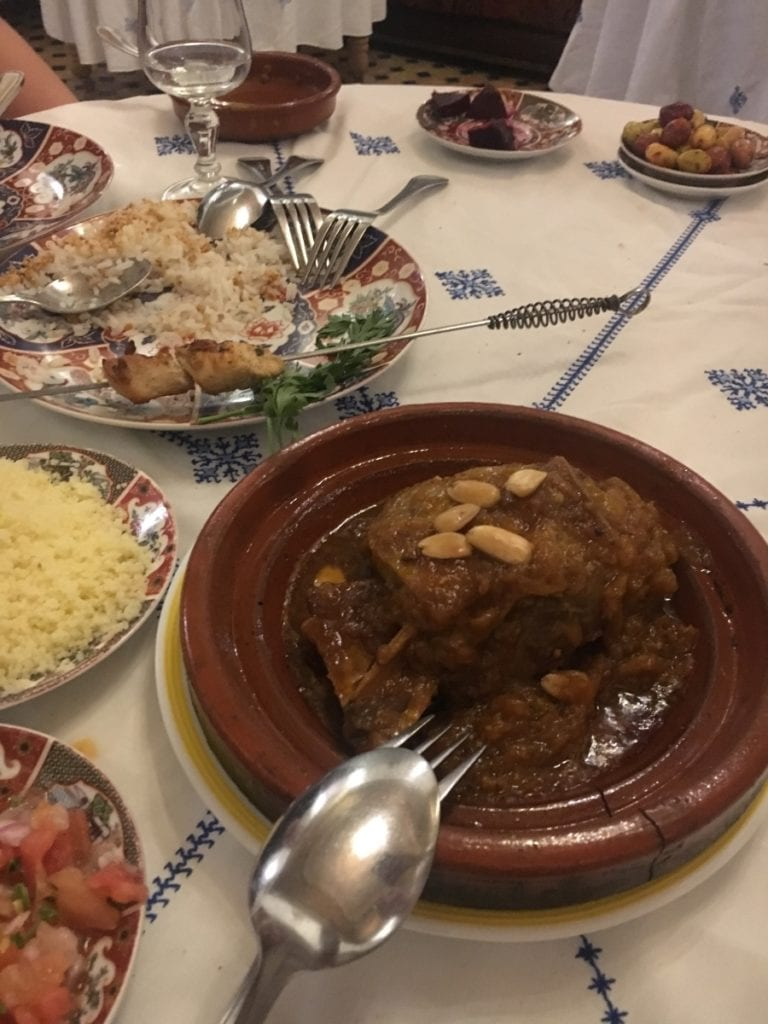 The Best Lamb Tajine in Fes