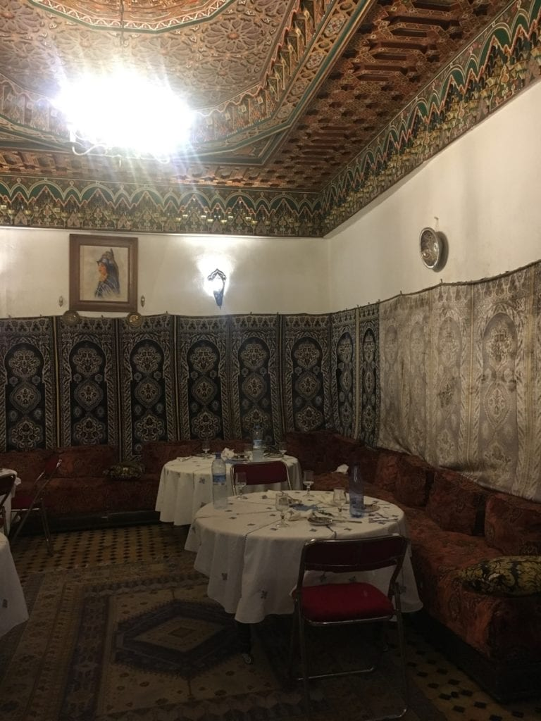 Best Restaurant in Fes - Restaurant Dar Hatim