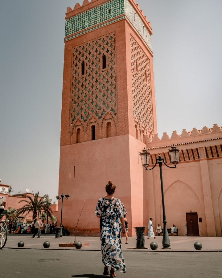 Moulay El Yazid Mosque in Marrakech