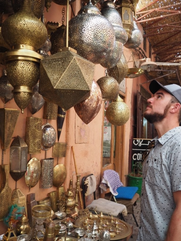 Shopping at the Souks in The Medina