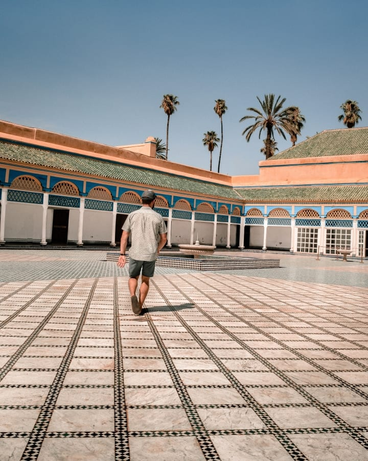 Exploring Bahia Palace in Marrakech
