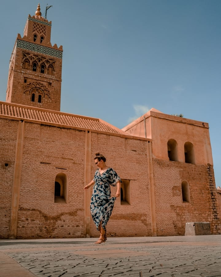 Taking in The Views of Koutoubia Mosque