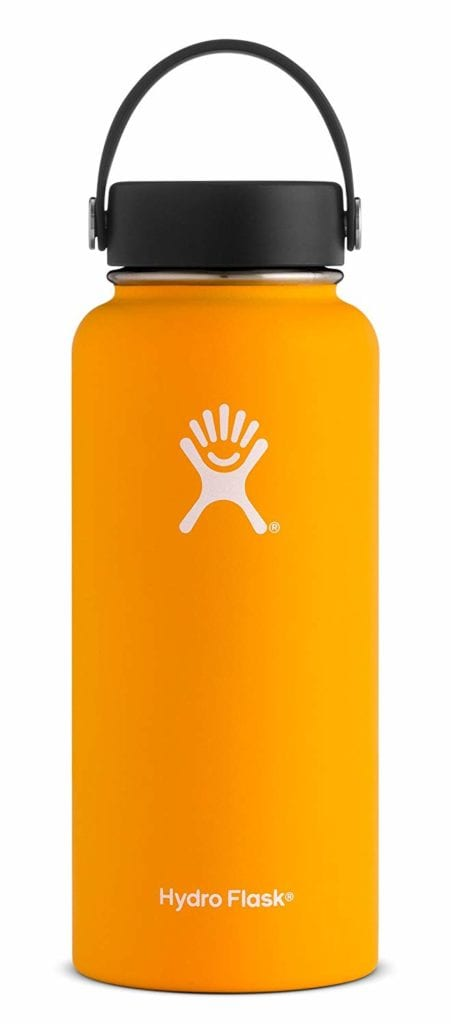 sustainable gift ideas - reusable water bottle