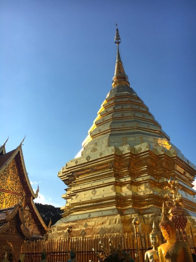 Golden Pagoda of Doi Suthep