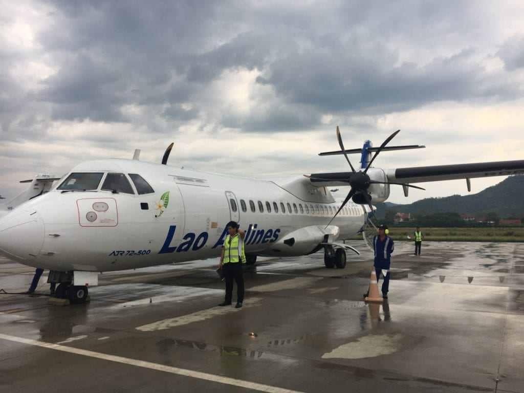 Lao Airlines from Luang Prabang Airport