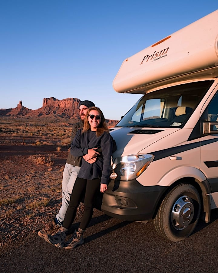 Our RV and Monument Valley