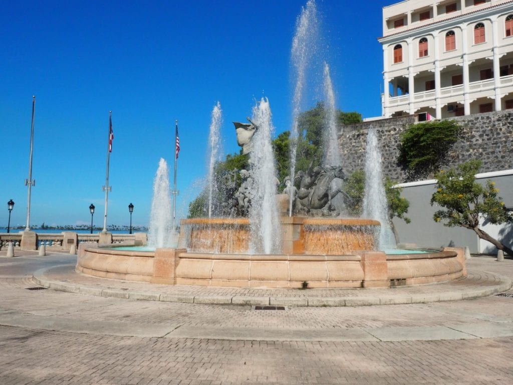 Raices Fountain