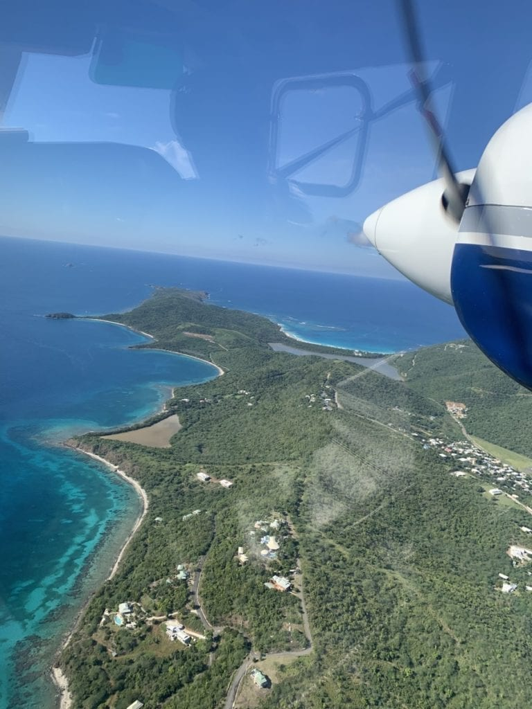 Flight to Culebra