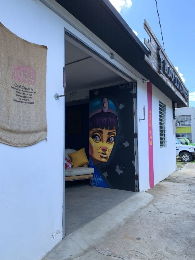 Blac Flamingo Coffee, Culebra