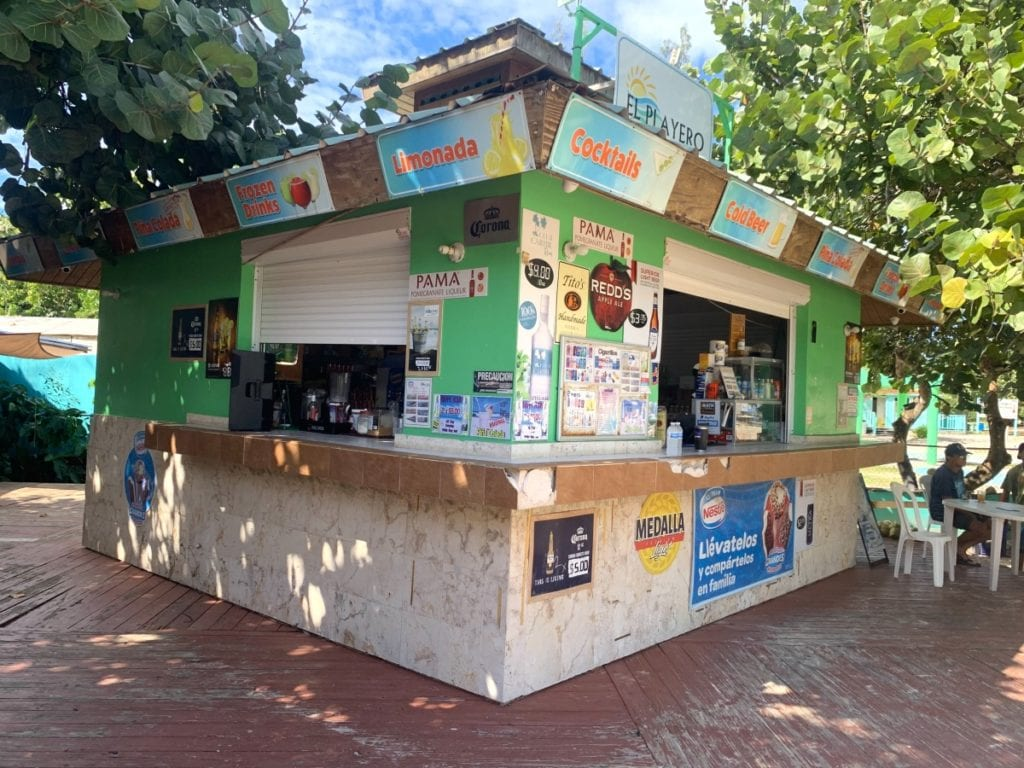 Flamenco Beach Food Kiosk