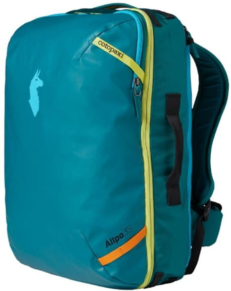 sustainable gift ideas -cotopaxi allpa travel pack