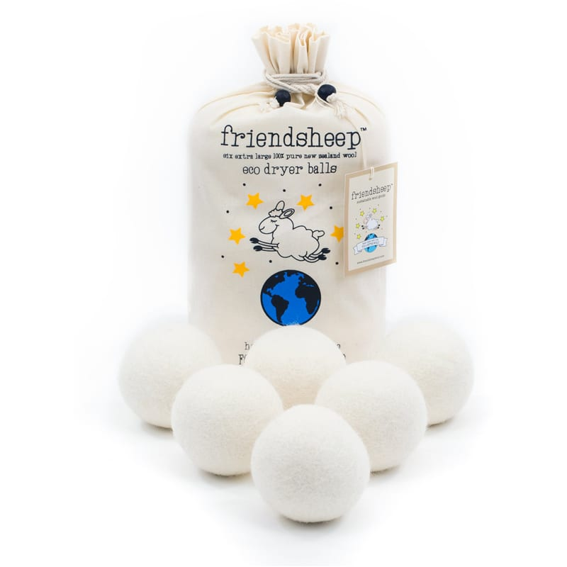 eco friendly wool dryer balls