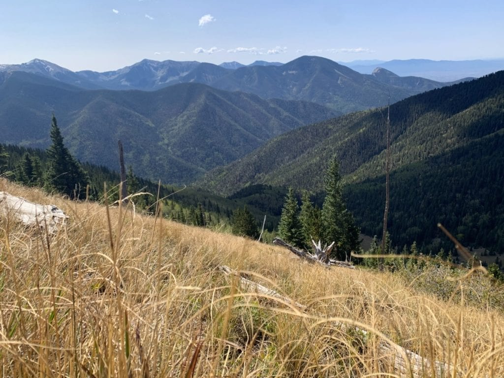Hiking in the Taos Ski Valley