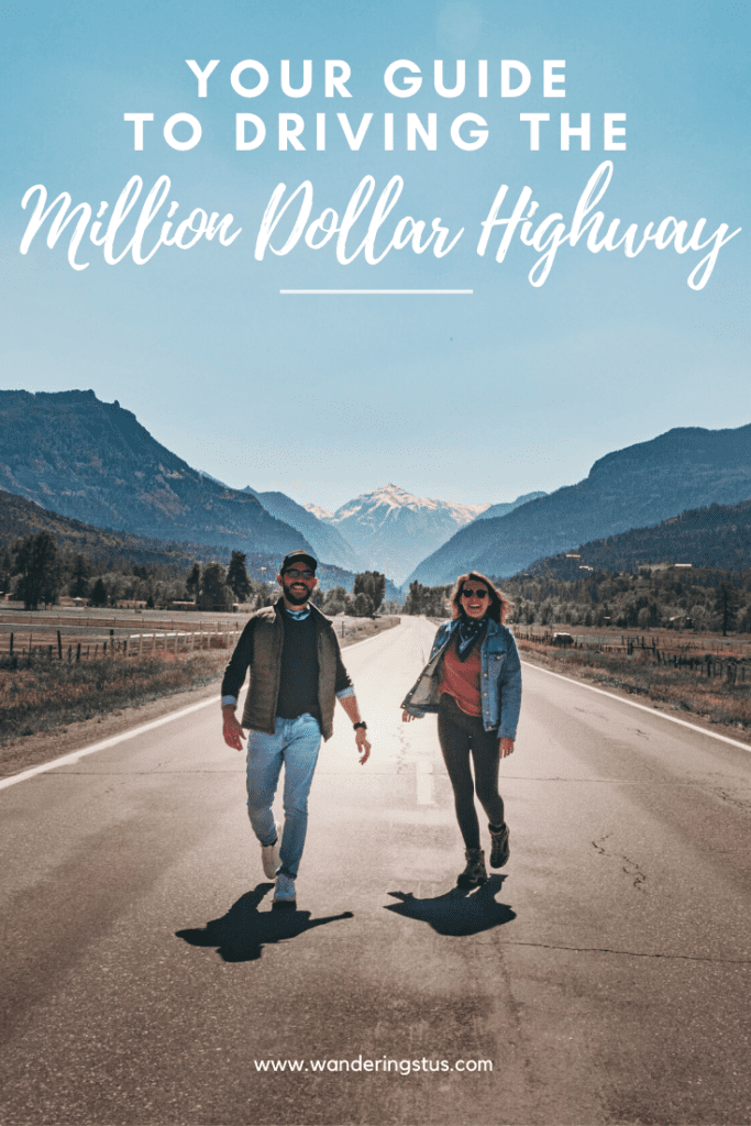 Driving The Million Dollar Highway Pin