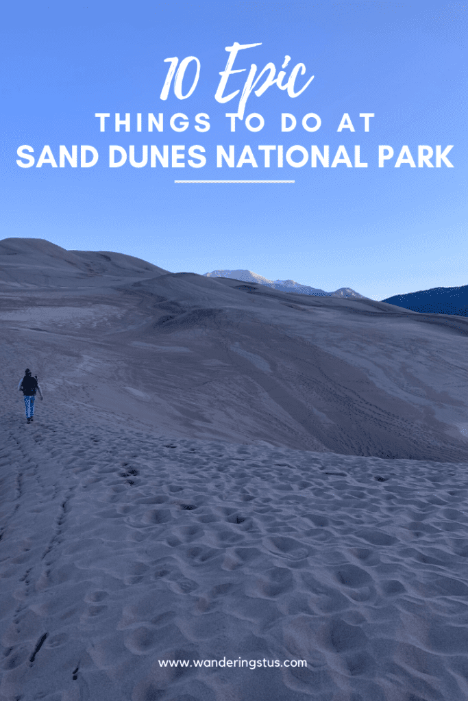 Great Sand Dunes Sharable Pin
