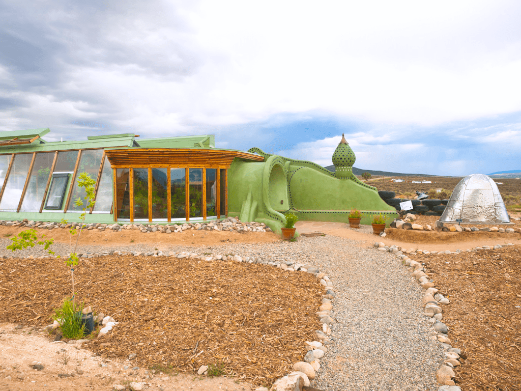 The Taos Earthship Visitor Center