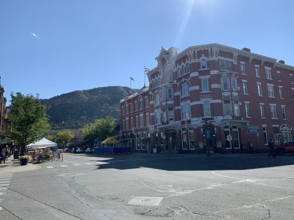 Walking around Historic Downtown Durango