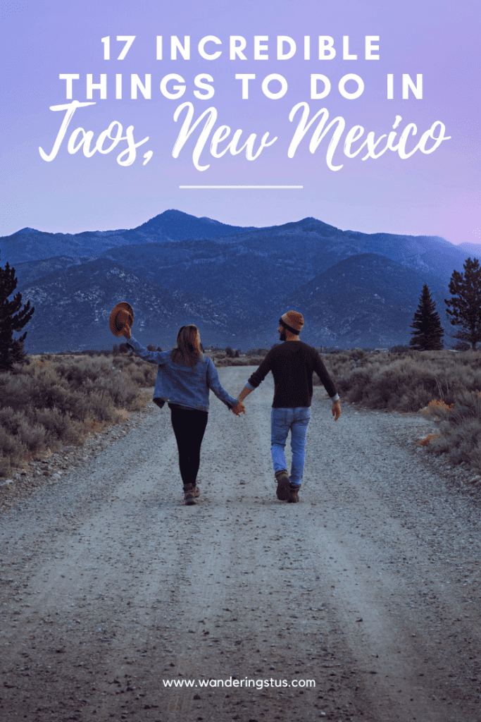 Things To Do in Taos New Mexico Pin