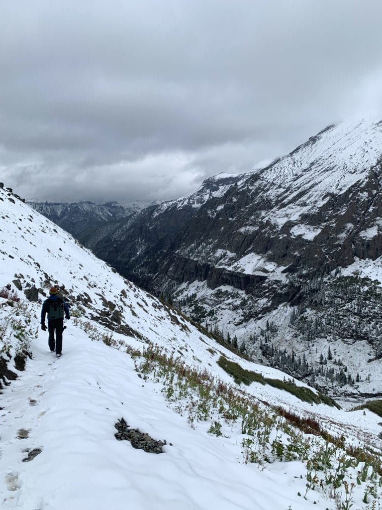 Hiking the Wasatch Connector Trail in Telluride