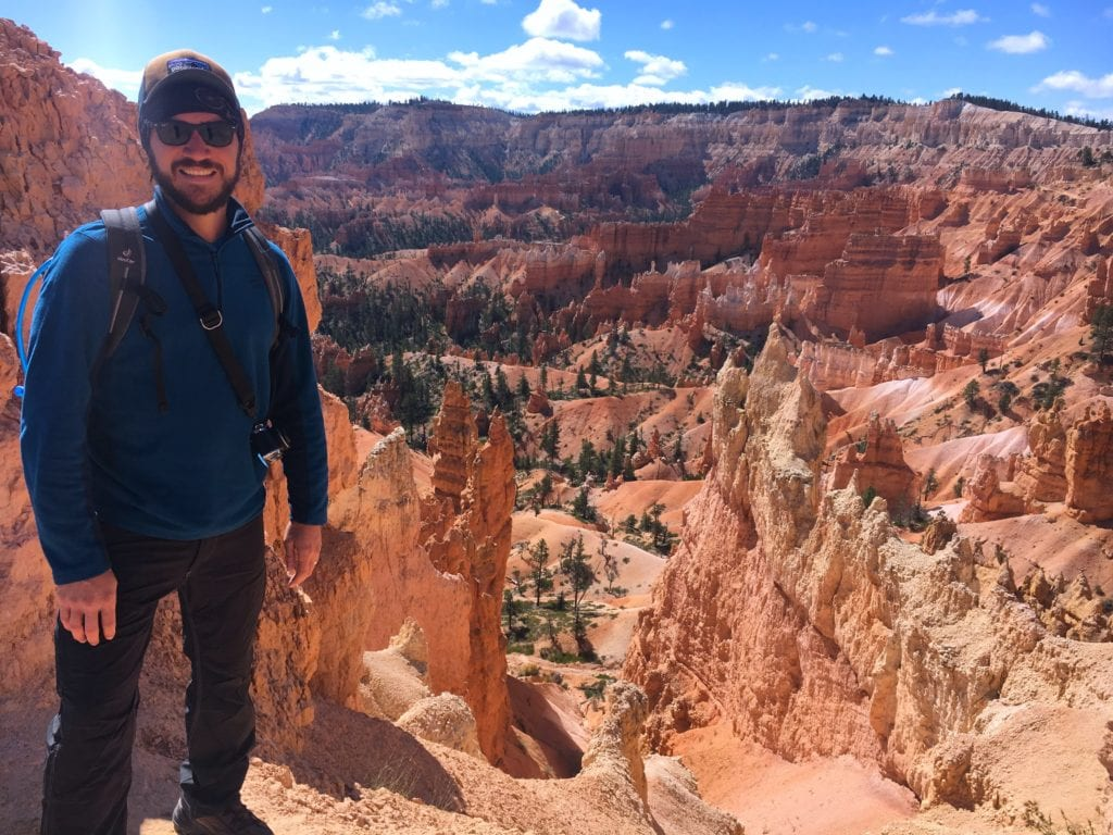 Utah Road Trip: Jesse with Bryce Canyon