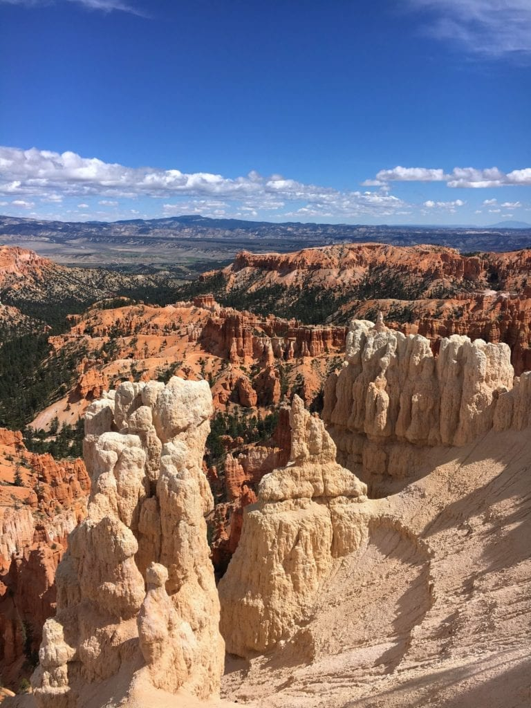 The hoodoos of Bryce Canyon