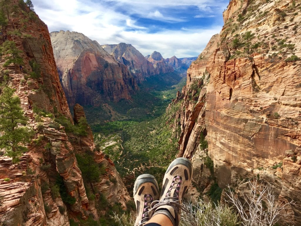 Endless views of Zion National Park